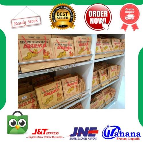 Foto Produk Keripik Pisang Aneka Keripik Pisang Kepok Lampung Kripik Pisang Coklat - Asin dari OlehOlehLampung88