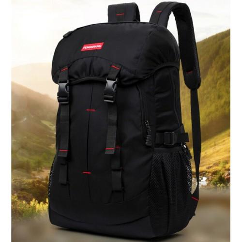 Foto Produk REEDARK Tas Gunung Outdoor Waterproof NH15Y001-Z Black dari toko budget