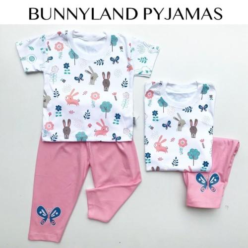 Foto Produk BUNNYLAND PYJAMAS (bahan super lembut GOOD QUALITY) piyama babeebabys dari babeebabyshop2