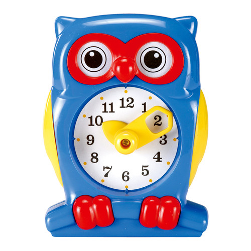 Foto Produk Gigo Owl Teaching Clock Alat Peraga Matematika dari Gigo Toys