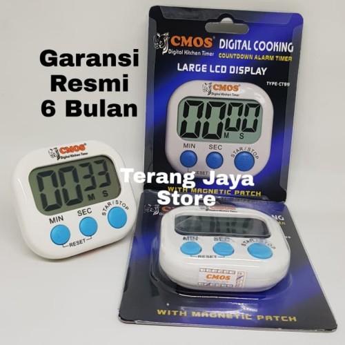 Foto Produk Timer Kitchen Cooking CMOS CT99 Timer Masak Dapur Cmos CT99 (Putih) dari Terang Jaya Store