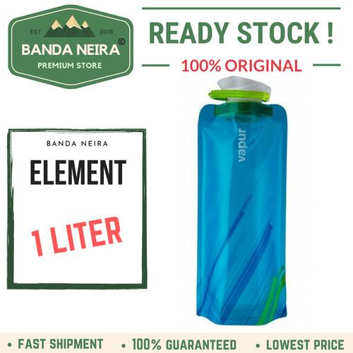 Foto Produk Vapur Element 1 L Original Botol Lipat Travelling Backpack - Biru dari Banda Neira Store