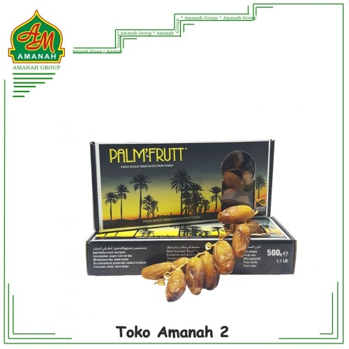 Foto Produk Kurma Palm Fruit 500gr / Palm Frutt / Kurma Tunisia dari Toko Amanah2