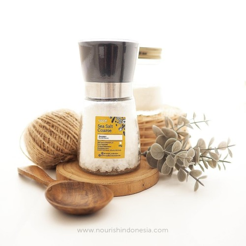 Foto Produk Sea Salt Coarse with Grinder 90gr dari Nourish Indonesia