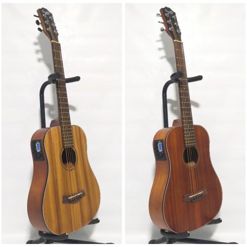 Foto Produk Gitar Akustik Elektrik Mini 3/4 Cowboy GW-120NSK Original Import - Paket A dari vero music store