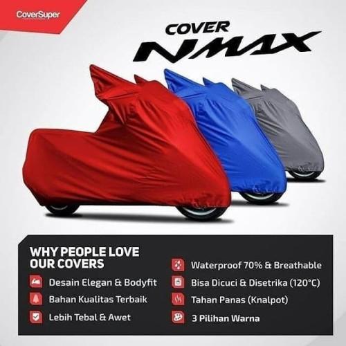 Foto Produk Sarung Motor Yamaha NMAX Waterproof dari bodycoversuperid
