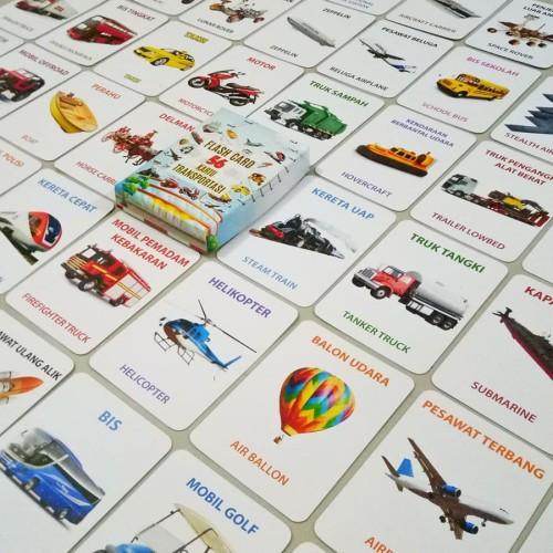 Foto Produk GET CASHBACK Flash Card Anak Mainan Edukasi Kartu Pintar Abjad Hewan dari DODO TOKO