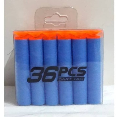 Foto Produk GET CASHBACK peluru nerf busa soft bullet blaster gun refill peluru dari DODO TOKO