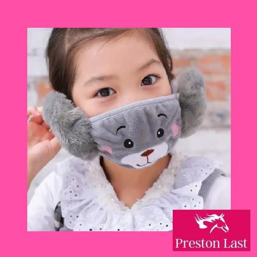 Foto Produk GET CASHBACK Masker Penutup Mulut Anti Debu Motif Kartun / Masker - Biru dari DODO TOKO