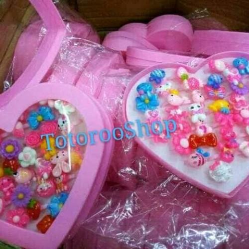 Foto Produk GET CASHBACK Cincin anak mainan lucu paket gift Murah Terbaru dari DODO TOKO