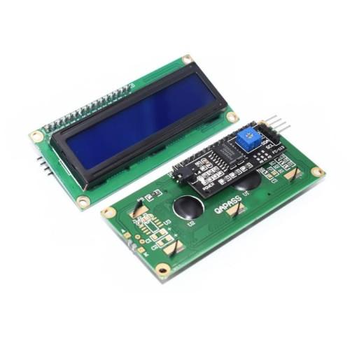Foto Produk LCD 16x2 1602 Biru Blue LCD With I2C IIC Module Arduino dari Starlectric