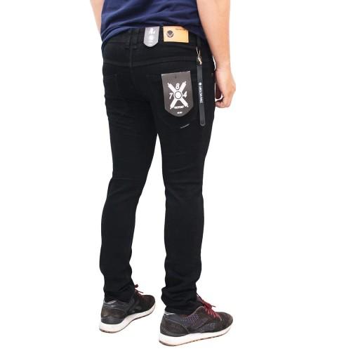 Foto Produk celana chino panjang pria slim-fit premium - Hitam dari playjeans