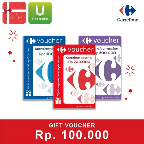 Foto Produk Hemat Paket Carrefour Rp 100.000 dari Ultra Voucher
