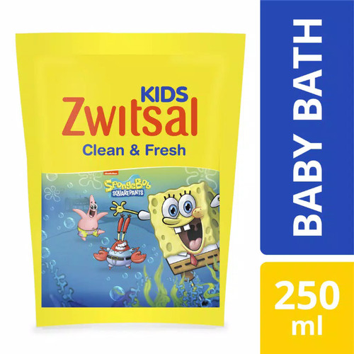 Foto Produk Zwitsal Kids Bubble Bath Refill Blue 250ml dari Nic Shop