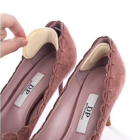 Foto Produk 4D Soft Heel Cushion Bantalan Pelindung Tumit Insole Sepatu Anti Lecet dari Buzzing shop