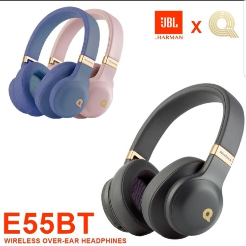 Foto Produk headphone bluetooth E55BT - wireless headphone - Biru dari lapak daddy