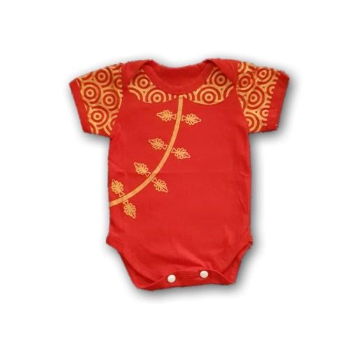 Foto Produk Baju Jumper Imlek Anak Bayi Laki-Laki Perempuan Cheongsam Chinese Year - 6-12 bulan, B Qibao cewek dari Nuning Ningrum Shop
