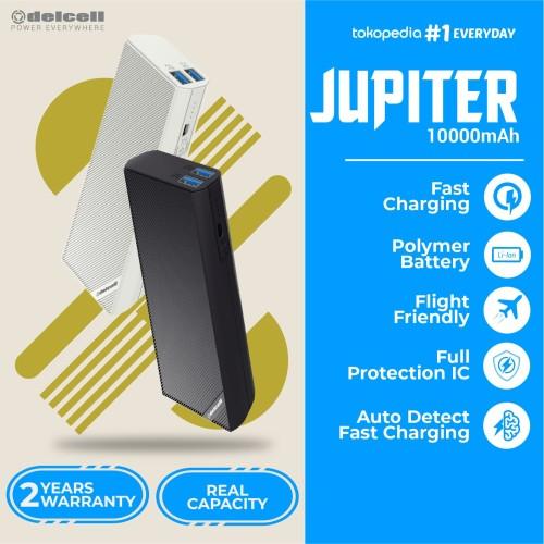 Foto Produk New Delcell JUPITER Powerbank 10000mAh Real Capacity Fast Charging dari GadgetsHp