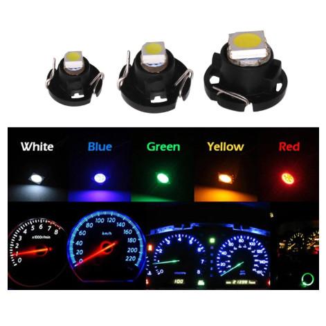 Foto Produk Led Lampu Dashboard Speedometer panel T3 T4.2 T4.7 Extra Bright Mobil - Biru, T4.7 dari mulia-electric