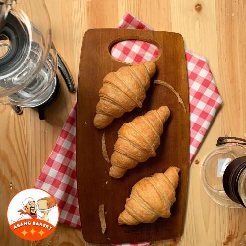 Foto Produk Supplier Cafe| Croissant Butter PREMIUM| Croissan Plain| Croisant dari Abang Bakery
