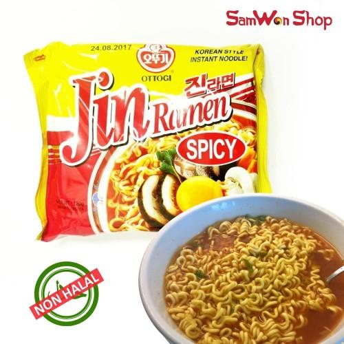 Foto Produk OTTOGI JIN RAMEN SPICY HOT - MIE INSTAN KUAH KOREA (NON HALAL) dari SamWon-Shop