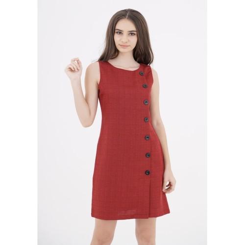 Foto Produk Chanel Button Tweed Dress - M dari Voerin Official