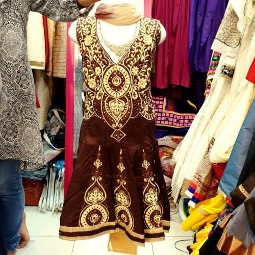 Foto Produk Baju India Anak Cewek. Perempuan Usia 1-2 Tahun Anarkali Saree Lehenga dari Acev Pro