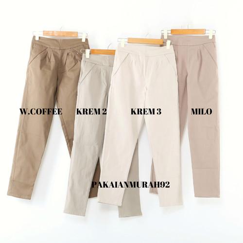 Foto Produk PAKAIANMURAH92|Celana Kerja Wanita Jumbo ORI ALLSIZE-XL-XXL-XXXL-XXXXL - ALLSIZE dari PAKAIANMURAH92