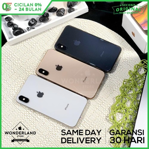 Foto Produk Second iPhone XS 64GB Grey/Silver/Gold, Mulus LikeNew, Fullset Origina dari Wonderland Store