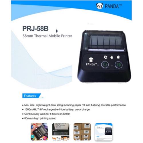 Foto Produk Mobile Printer Bluetooth PANDA PRJ-58B 58MM (USB & Bluetooth) dari Auto Pilot Store