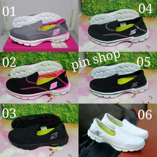 Foto Produk sepatu wanita skechers slip on terbaru dari pin.shop