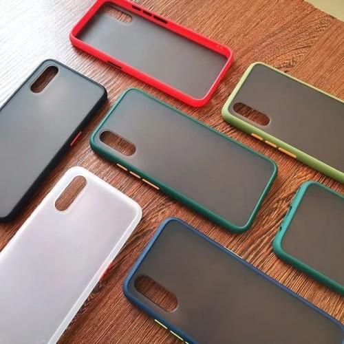 Foto Produk Xiaomi Redmi Note 8 pro SoftCase Matte Armor Colored Froasted Macaron dari sense accessories