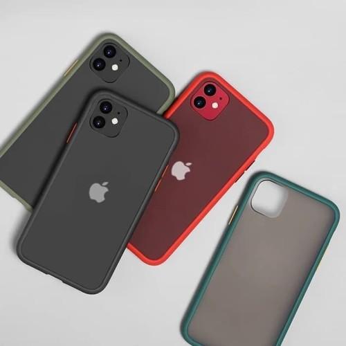 Foto Produk Iphone 11 6.1 Soft Case Matte Armor Colored Froasted Macaron dari sense accessories