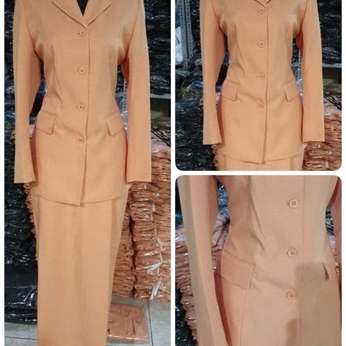 Foto Produk Set Blazer Baju Seragam Dharma Wanita Cantik Azkia dari BLAZER AZKIA
