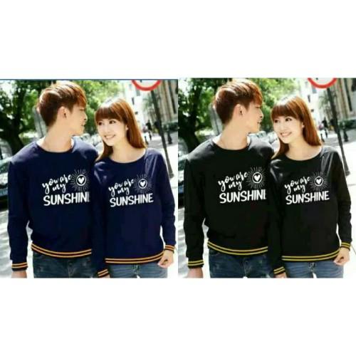 Foto Produk Sweater Couple Lp Sunshine 2 dari Wallsticker shop