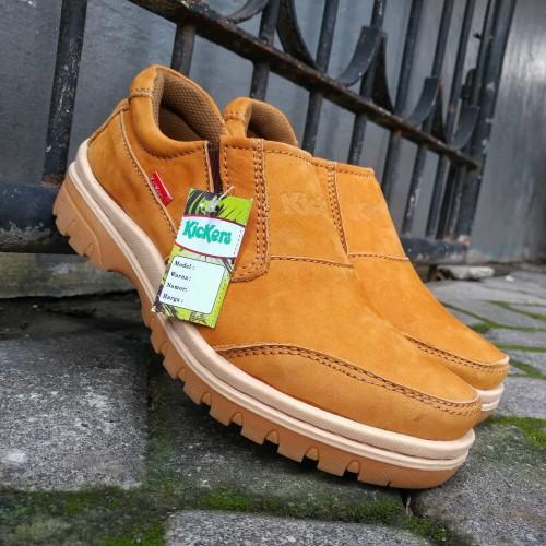 Foto Produk Sepatu Casual Pria Bahan Kulit Asli Jenis Kulit Nubuck (Kulit Balik) dari rif&lif store