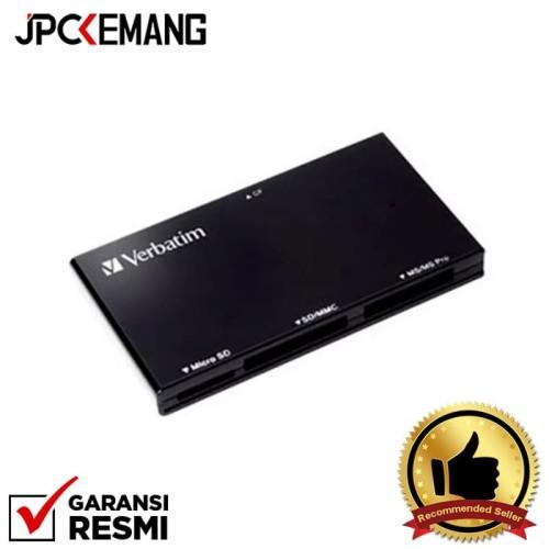 Foto Produk Verbatim USB 3 4 in 1 Card Reader - Hitam dari JPCKemang