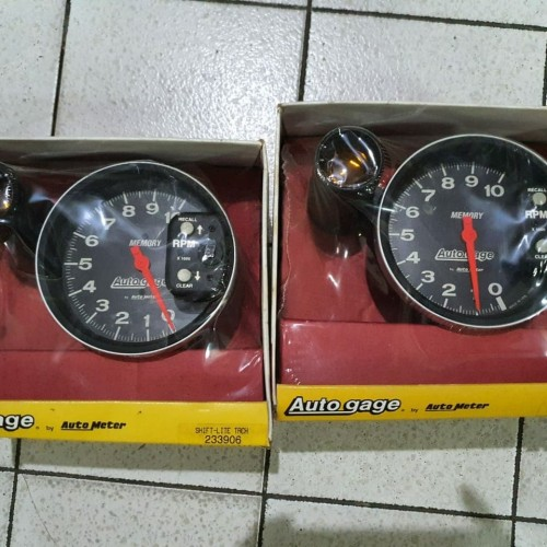Foto Produk tachometer autogage by autometer ori usa dari cendana padang