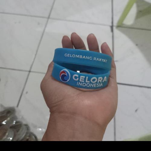 Foto Produk 100pcs gelang Gelora dari luber rubber