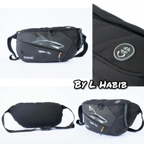 Foto Produk Tas Selempang waistbag waist bag hiu shark - Merk Gearbag dari L Habib