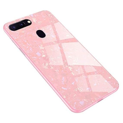 Foto Produk CASE OPPO F7/F9/A3S (A5) SHINY TEMPERED SHELL GLASS BACK COVER CASING dari arterycircle