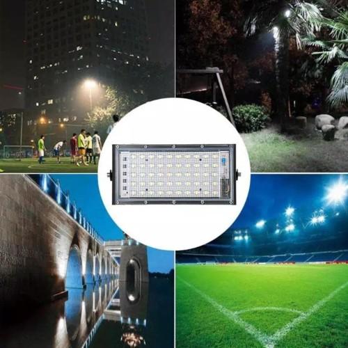 Jual Lampu Sorot Led 50w Tipis 50 Watt 50watt Super Terang Taman Lapangan Jakarta Selatan Joy Mart 22 Tokopedia