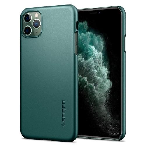 Foto Produk Case iPhone 11 Pro Max Spigen Thin Fit Ultra Slim Cover Midnight Green dari Spigen Indonesia