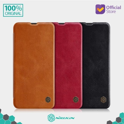 Foto Produk Case Samsung Galaxy A50s / A30s Nillkin Qin Leather Flip - Black dari Nillkin Official