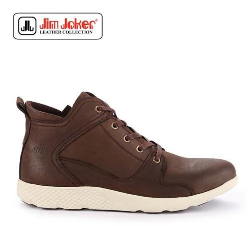 Foto Produk Sepatu Jim Joker Pria Boot A2 3 Brown Coffe Original dari Modsos