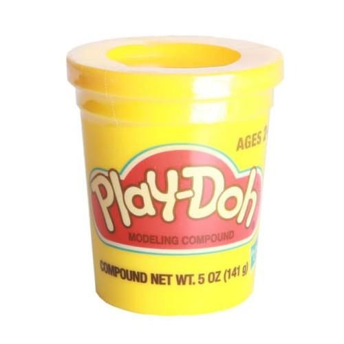 Foto Produk HOT SALE.!!! Play-Doh Single Can Yellow - 23869 terjamin dari tiaranovitasari132