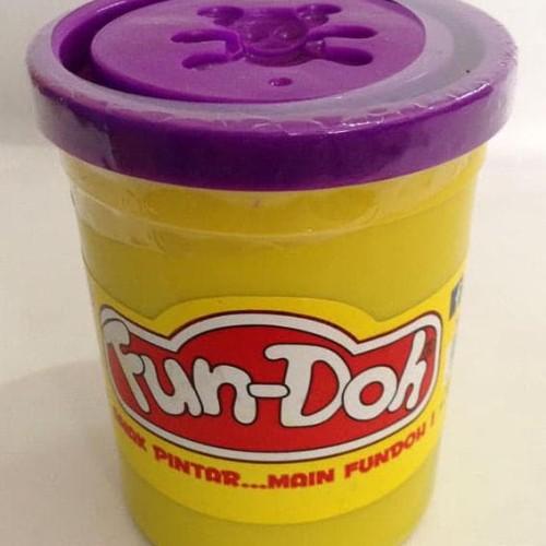Foto Produk HOT SALE.!!! Fun Doh Compound 250gr Purple terjamin dari tiaranovitasari132