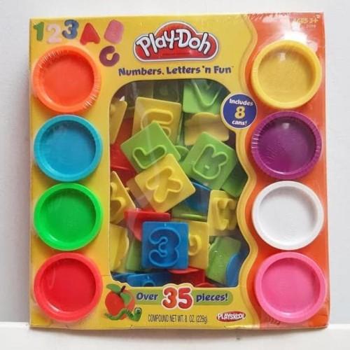 Foto Produk HOT SALE.!!! Play-doh numbers, letters n fun play doh murah playdoh dari tiaranovitasari132