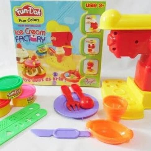 Foto Produk HOT SALE.!!! Fun Doh Ice Cream Factory - Mainan Anak FunDoh Mainan dari tiaranovitasari132