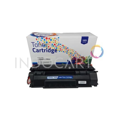 Foto Produk Toner Cartridge Compatible Q7553A 53A-Printer LaserJet HP P2015 M2727 dari INDOCART